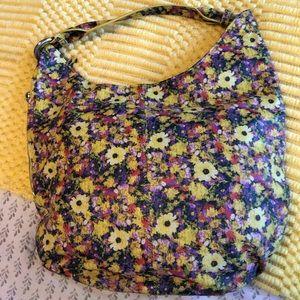 Hobo The Original leather flowered hobo bag